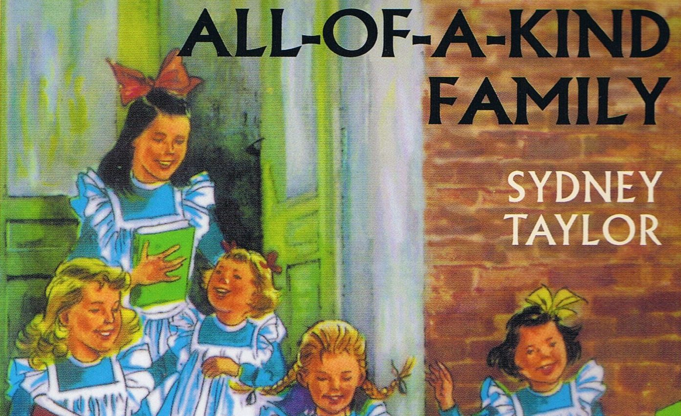 """""""All-of-a-Kind Family"""" book cover"""