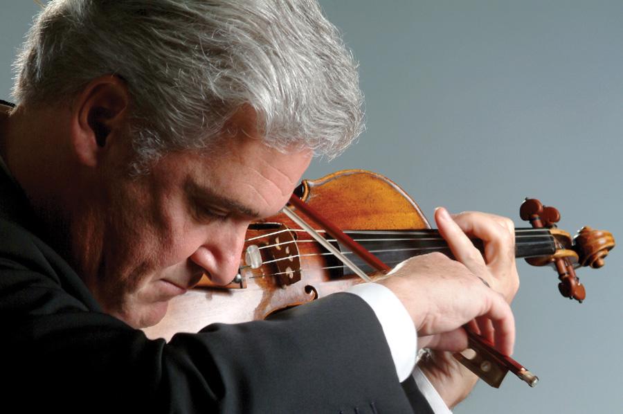 Zukerman playing violin