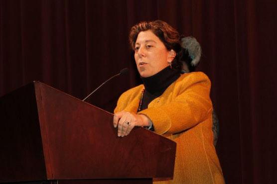 Jennifer Gorovitz of the New Israel Fund