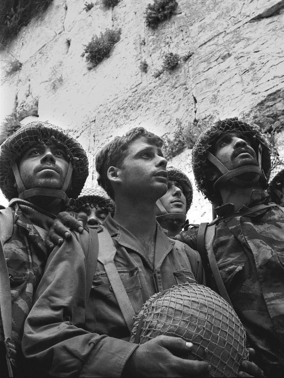 Israeli paratroopers 1967