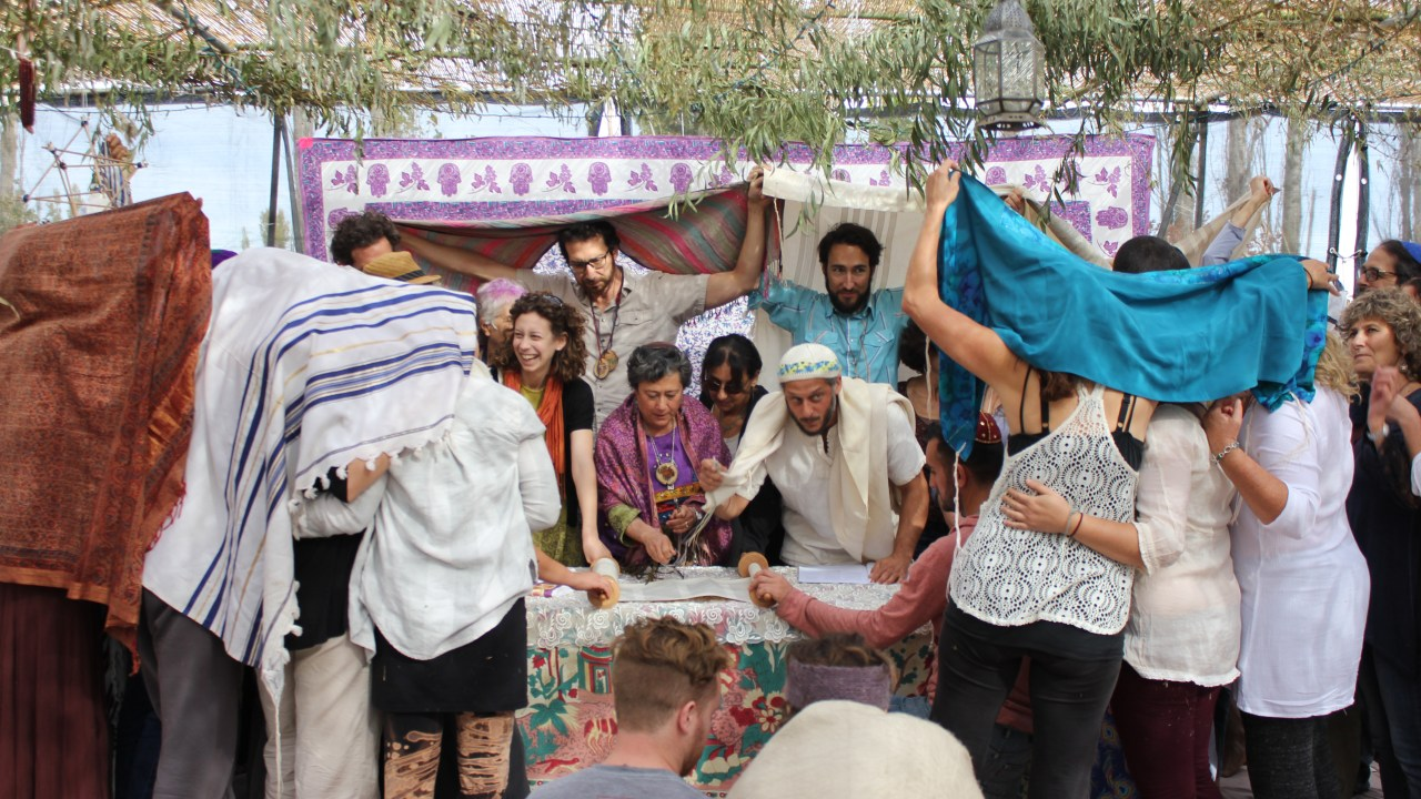 Sukkot on the Farm is a signature program of Wilderness Torah, which has again been awarded a spot on the Slingshot 50. (Photo/David A.M. Wilensky)