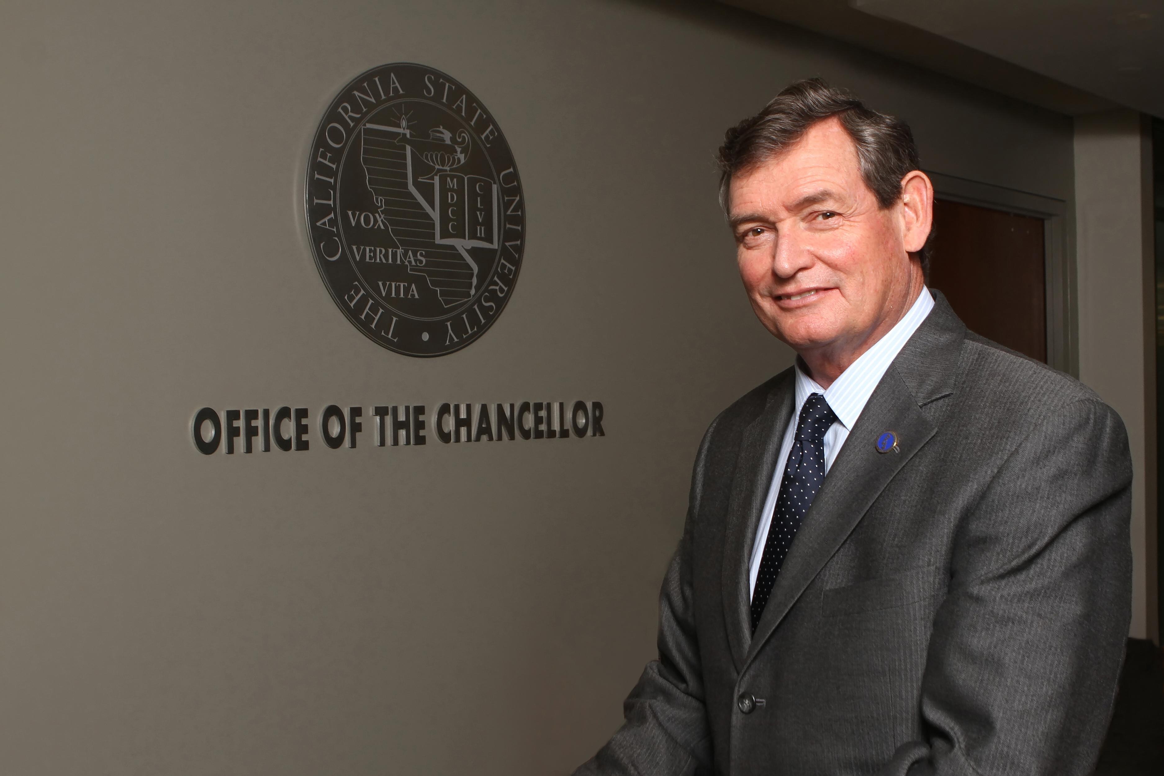 California State University Chancellor Timothy P. White (Photo/Courtesy CSU)