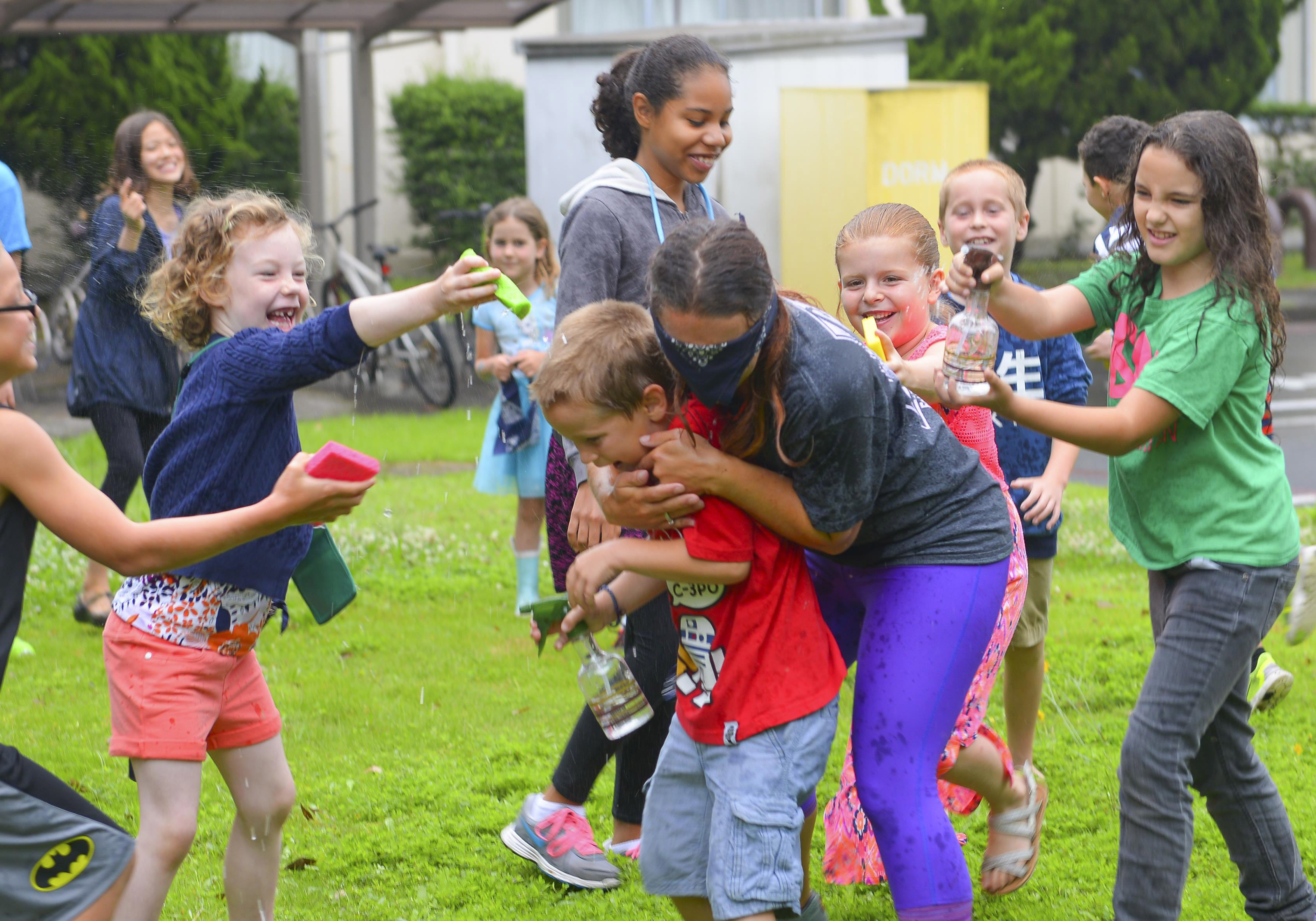 Summer camp is about fun and games — for some.