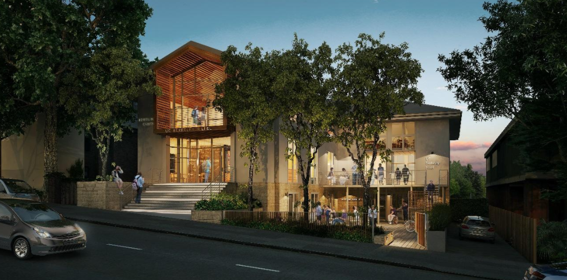 """UC Berkeley isn't just a """"war zone."""" It's also home to positive Jewish life, including the forthcoming $9 million remodel of Berkeley Hillel."""