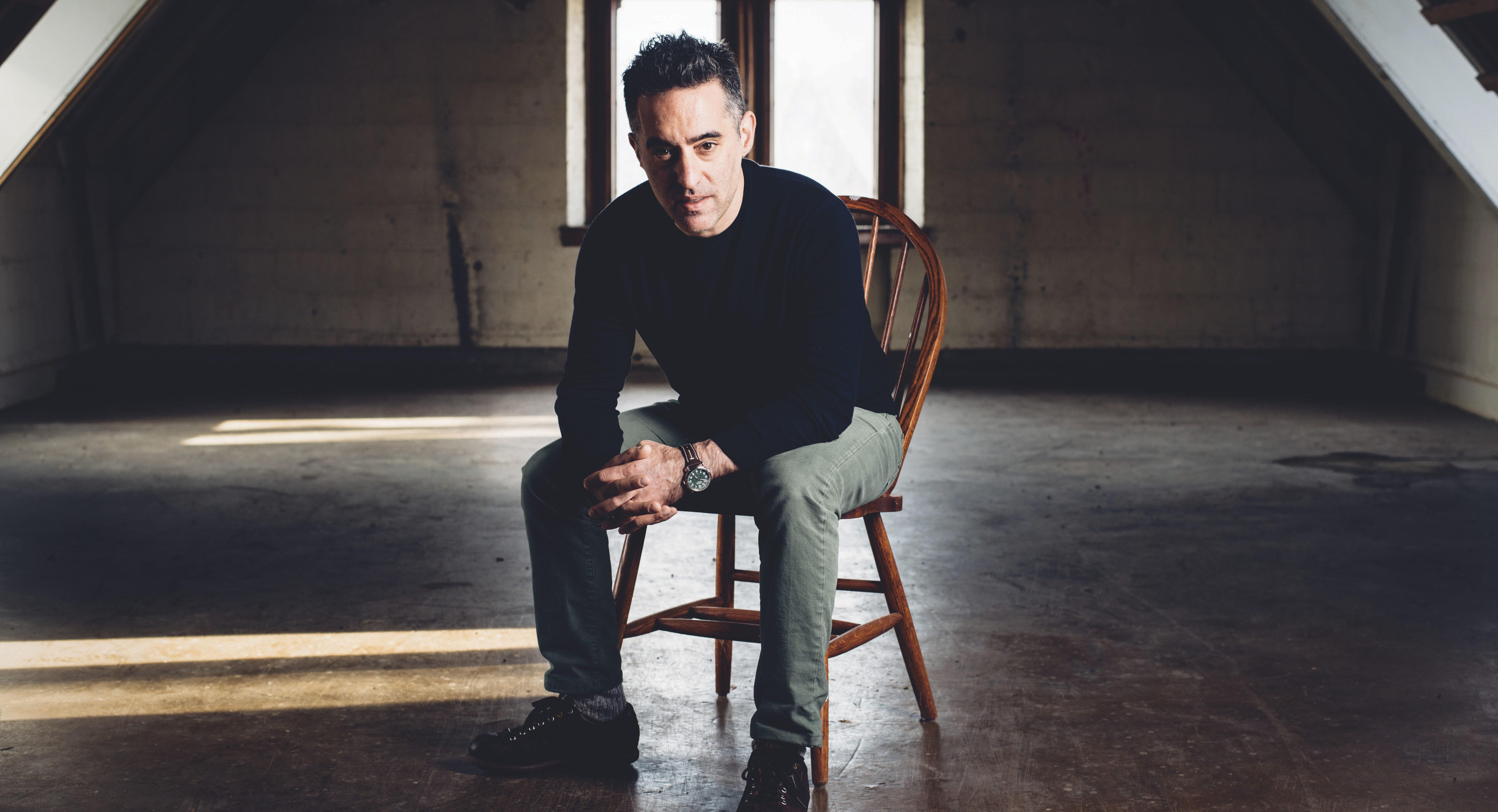 "Author Nathan Englander's new novel is ""Dinner at the Center of the Earth."" (Photo/Joshua Meier)"