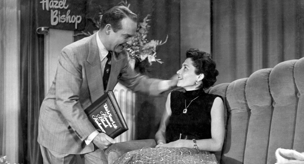"""""""This Is Your Life"""" host Ralph Edwards with Hanna Bloch Kohner, May 27, 1953 (Photo/Courtesy Julie Kohner)"""