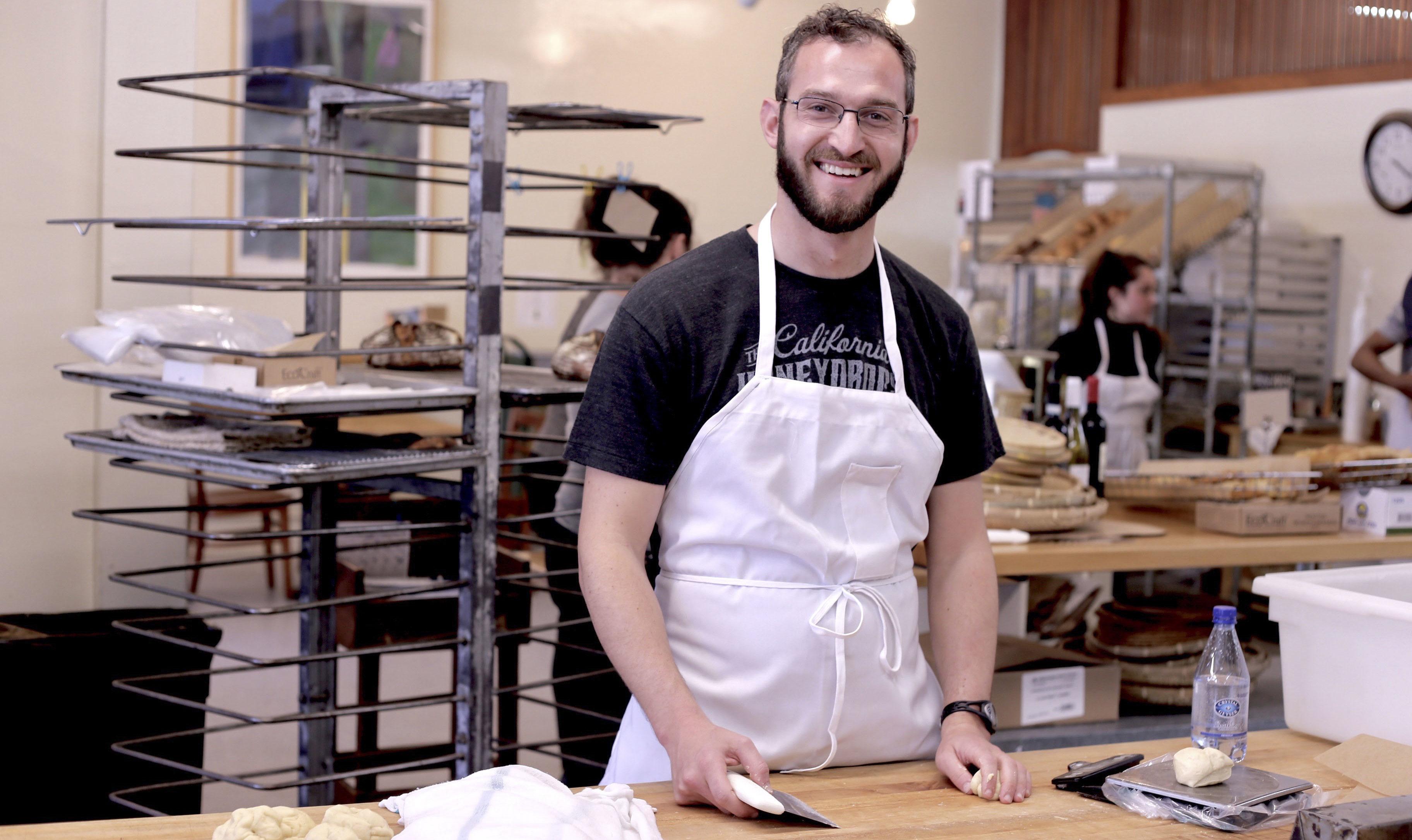 Sam Tobis is the new owner of Grand Bakery (Photo/Courtesy Sam Tobis)