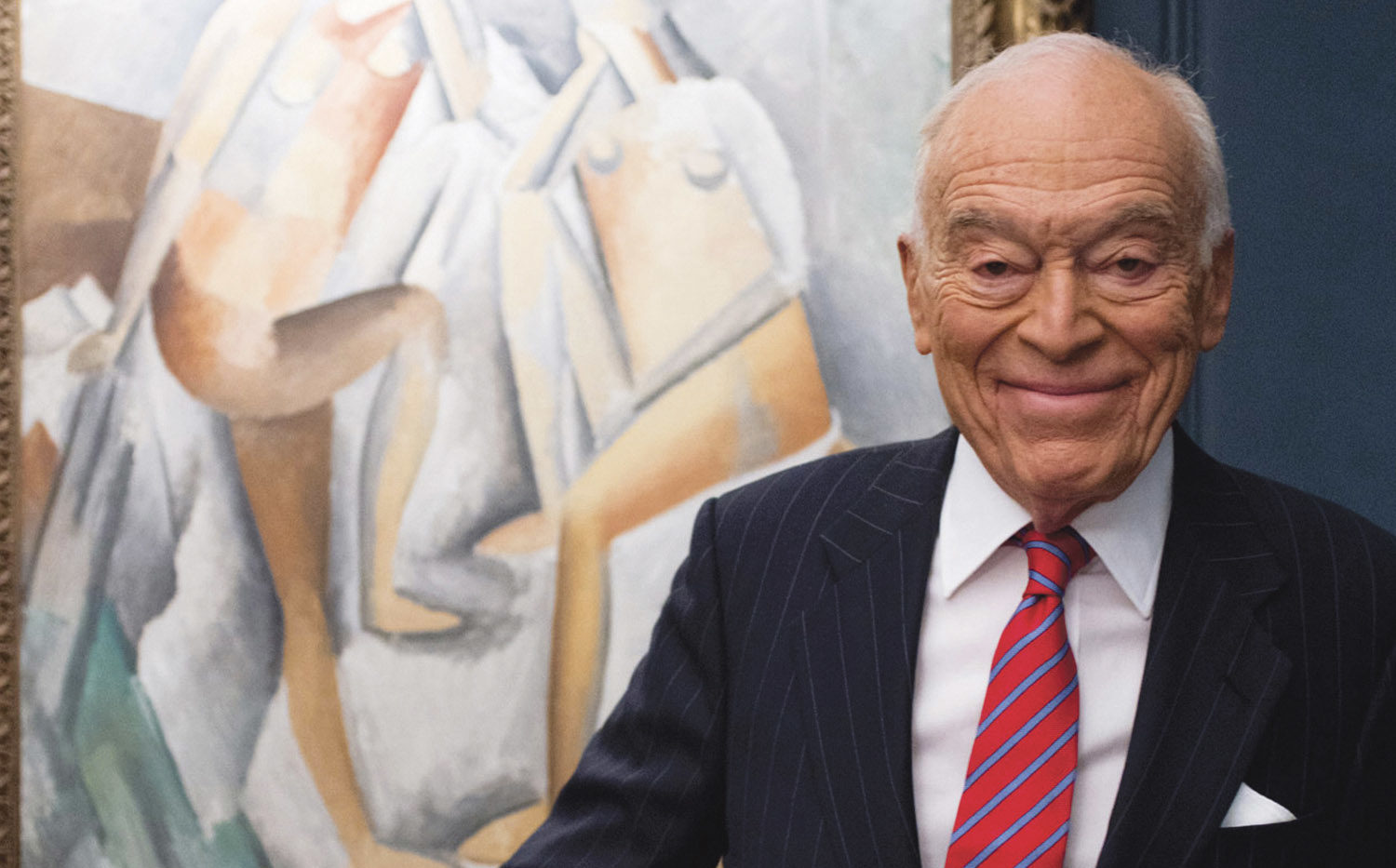 Leonard Lauder will be honored at this year's Day of Philanthropy in San Francisco, Nov. 7
