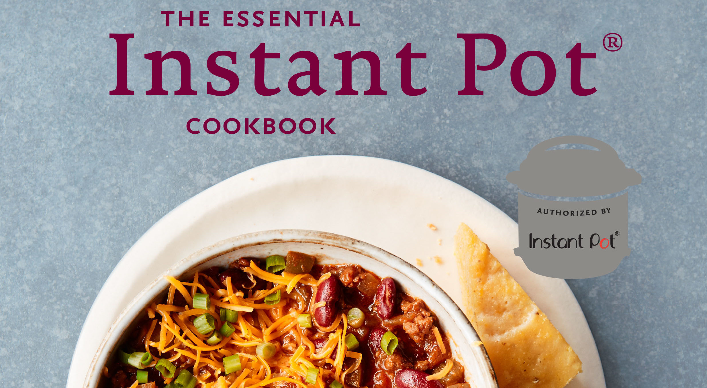 "From the cover of ""The Essential Instant Post Cookbook"" by Coco Morante"