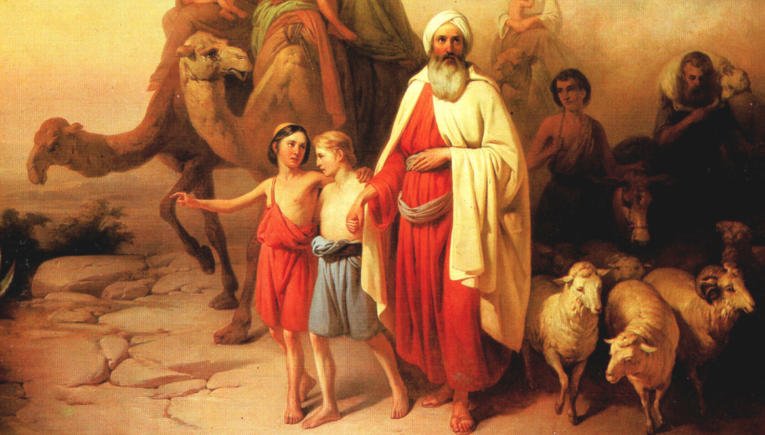 """Abraham's Journey from Ur to Canaan"" by József Molnár, 1850"
