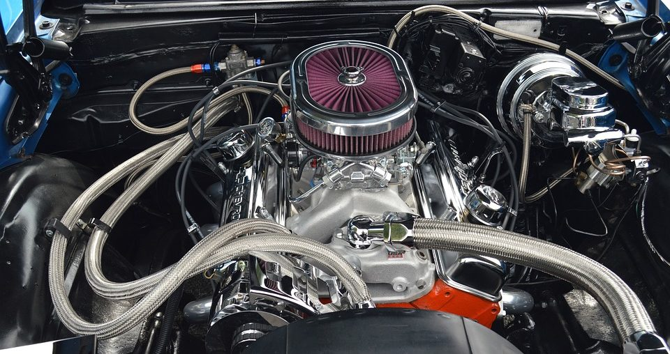 What doth the Jewish man see when he gazeth into the hot rod engine? (Photo/Pixabay)