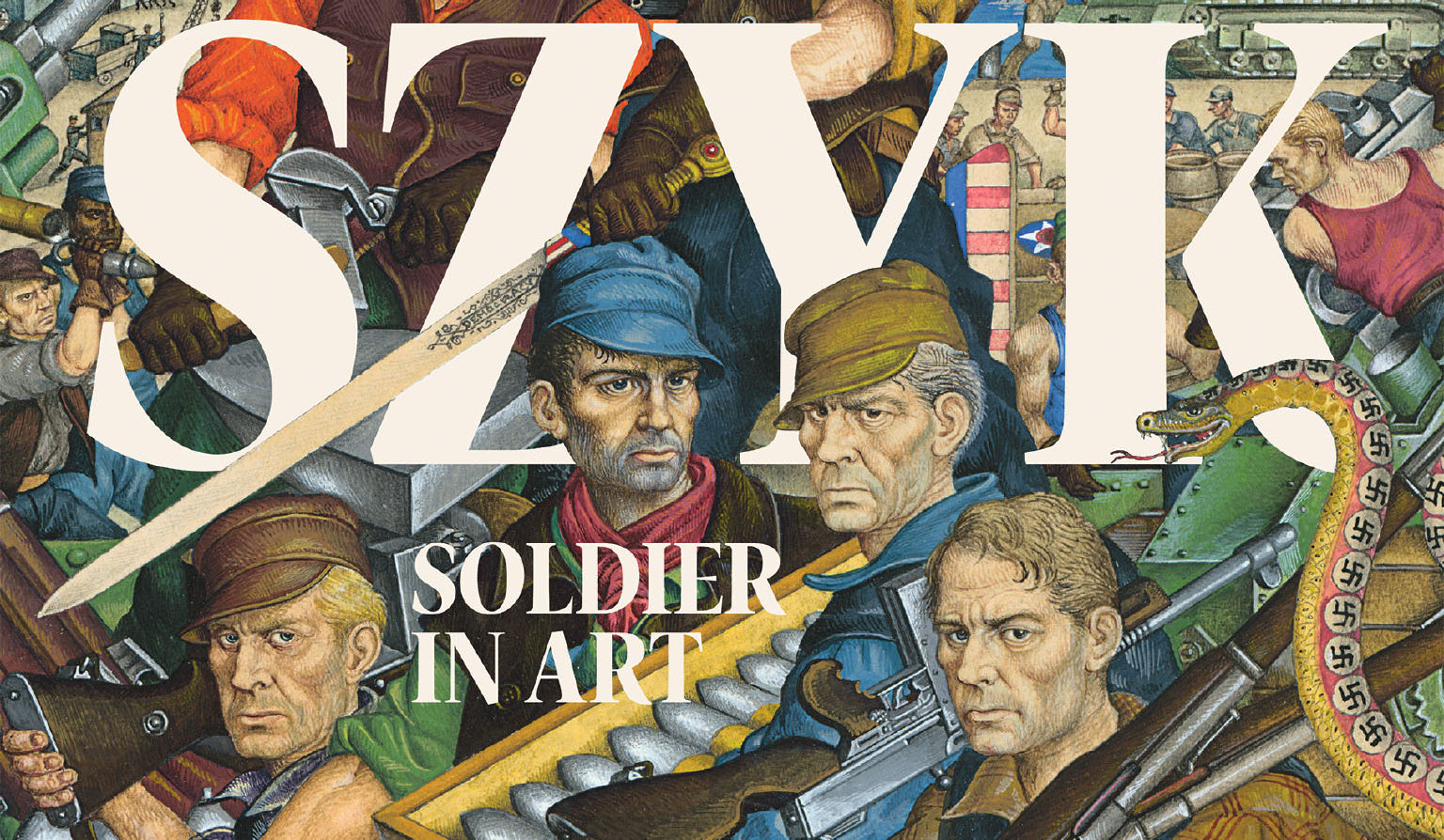 """From the cover of """"Arthur Szyk: Soldier in Art"""""""