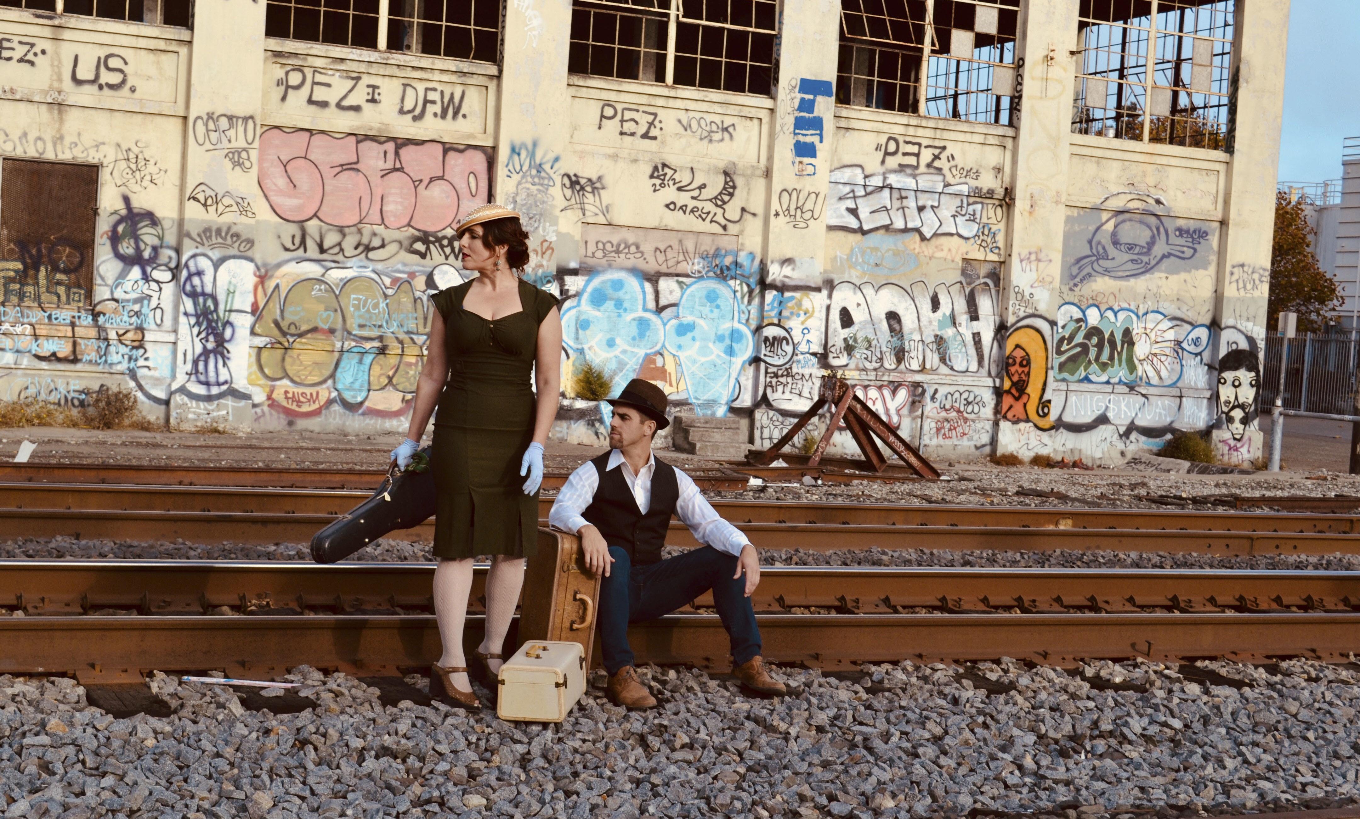 Lila Sklar and Ariel Luckey of Waystation (Photo/Edrisina Sklar)