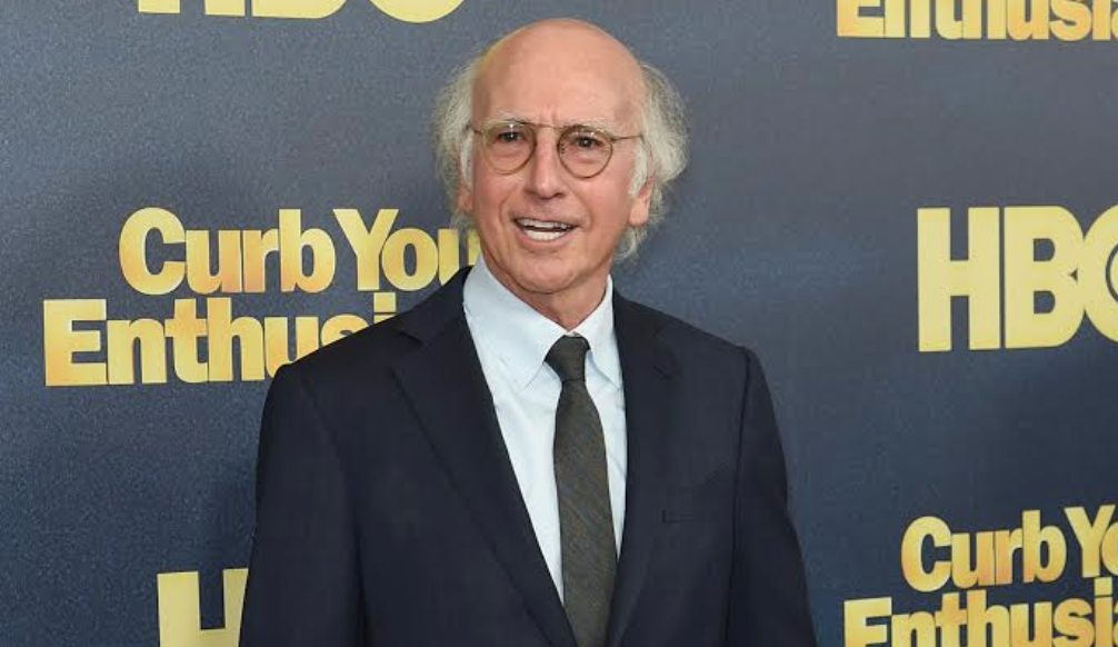 """Larry David at the """"Curb Your Enthusiasm"""" Season 9 premiere at the SVA Theater in New York, Sept. 27, 2017. (Photo/JTA-Jamie McCarthy-Getty Images)"""