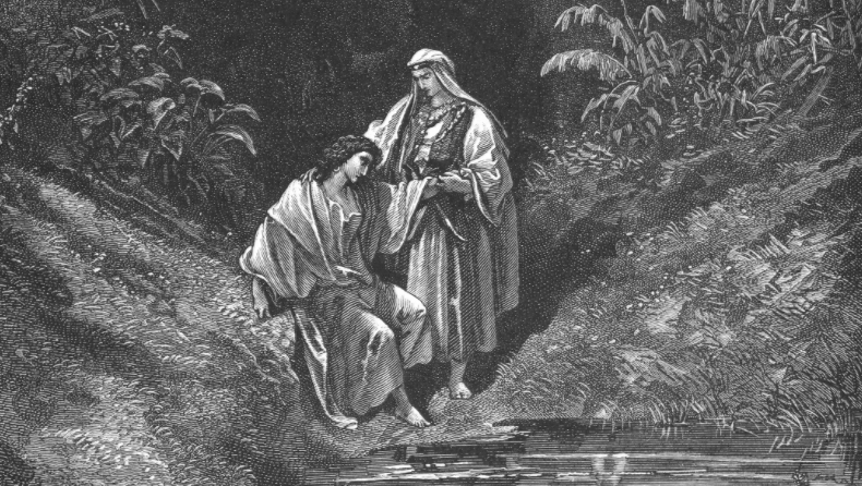 "From ""Jonathan and David"" by Gustave Doré"