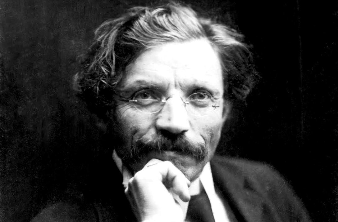Iconic Yiddish author Sholem Aleichem, 1907