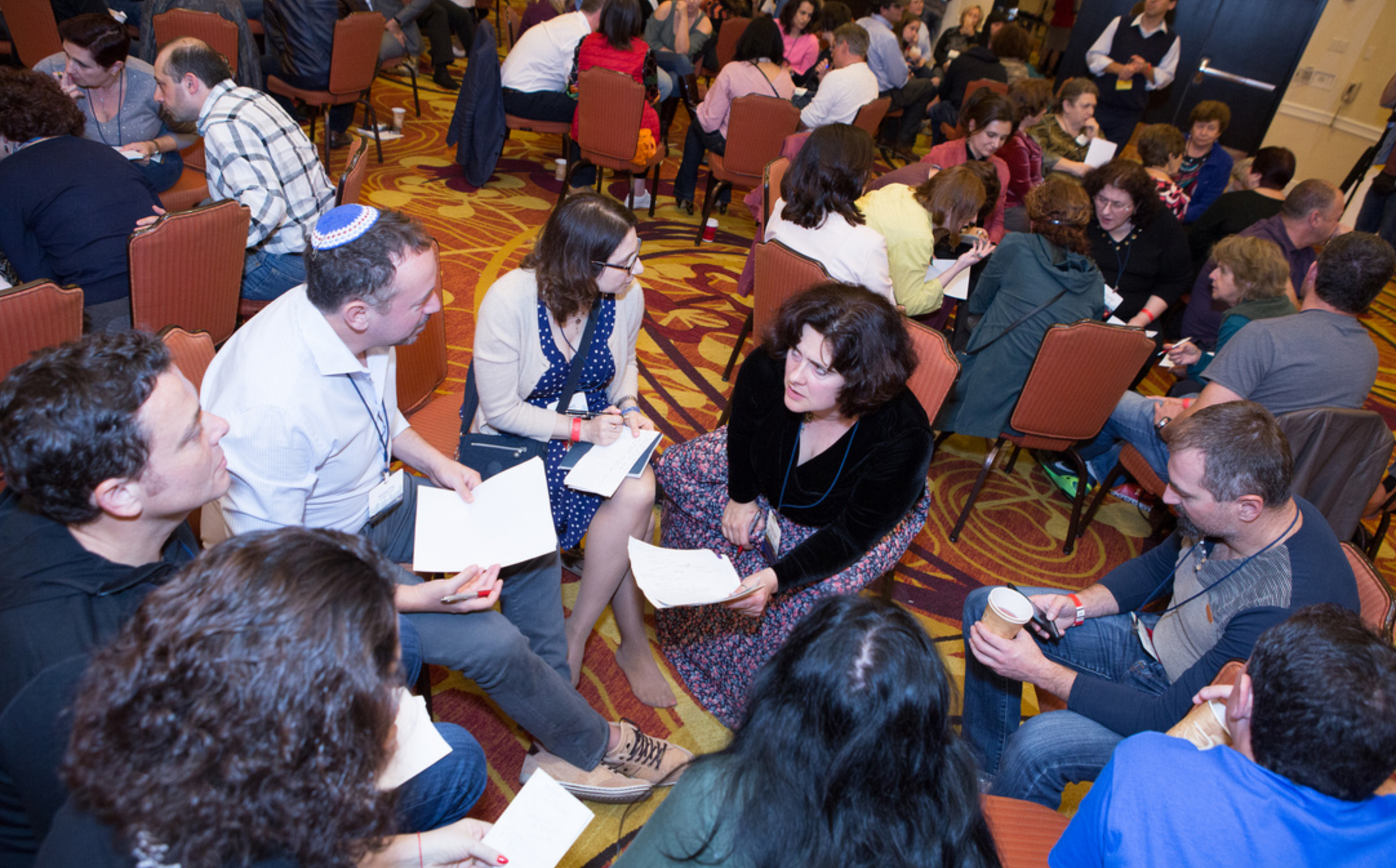 Jews from the former Soviet Union and their descendants gathered for Limmud FSU in Oakland, Nov. 17-19 (Photo/Kate Fim)
