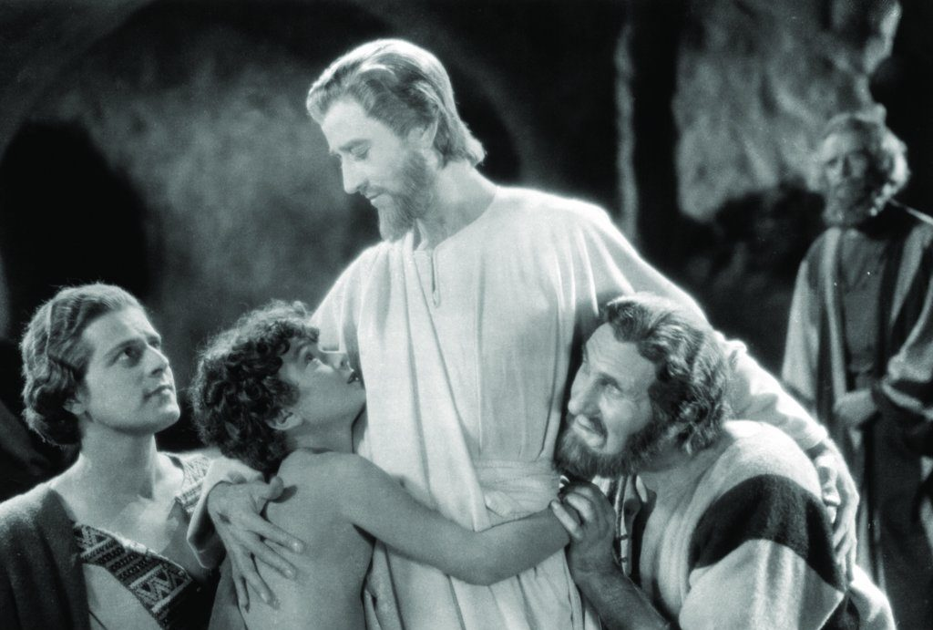 """A scene from the 1927 Cecil B. DeMille film """"King of Kings"""""""