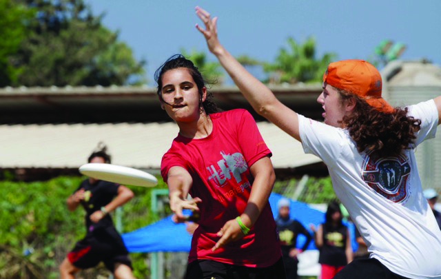 Ultimate Frisbee for peace in Israel? Yep. (Photo/file)