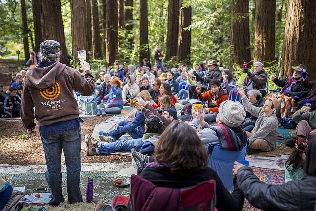 A Wilderness Torah event (Photo/file)