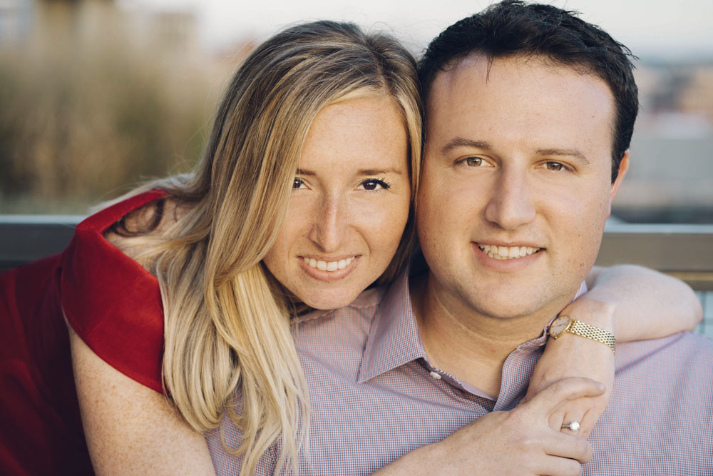 Sara (Sari) Naggar Bourne and Matthew Aaron Kaplan are to be married on Feb. 18, 2018 in San Francisco (Photo/Sydney Angel Photography)