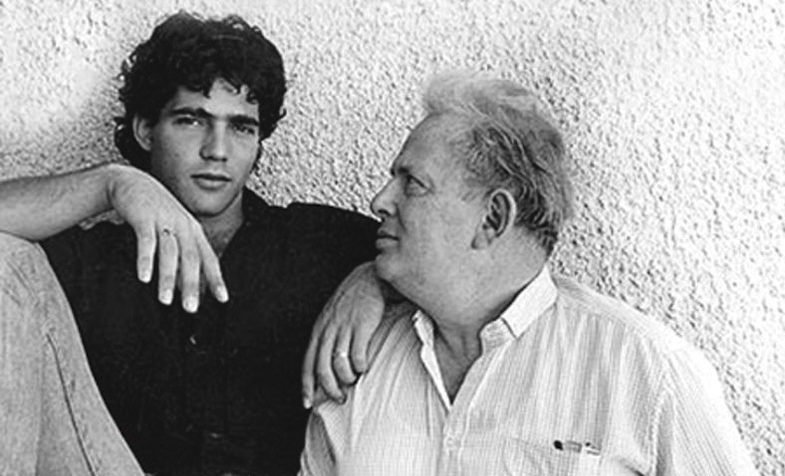 "From the cover of ""Memories After My Death,"" Yair Lapid's new biography of his father"