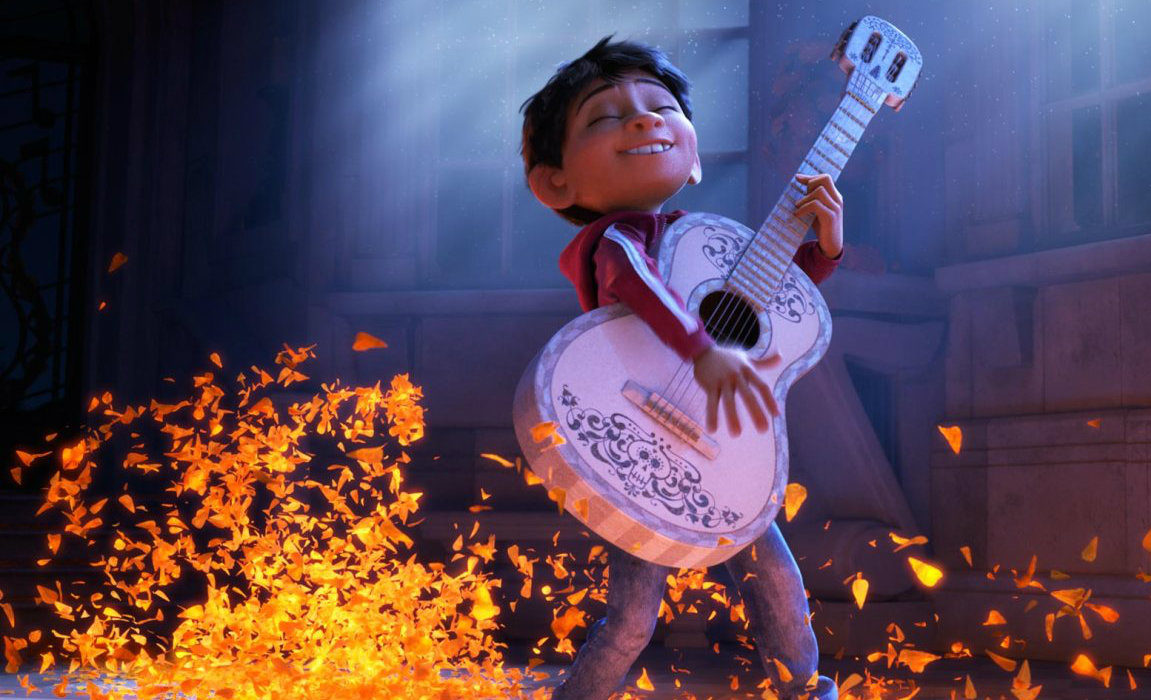 """""""Coco,"""" directed by Marin resident Lee Unkrich, is up for best animated picture at the Golden Globes."""