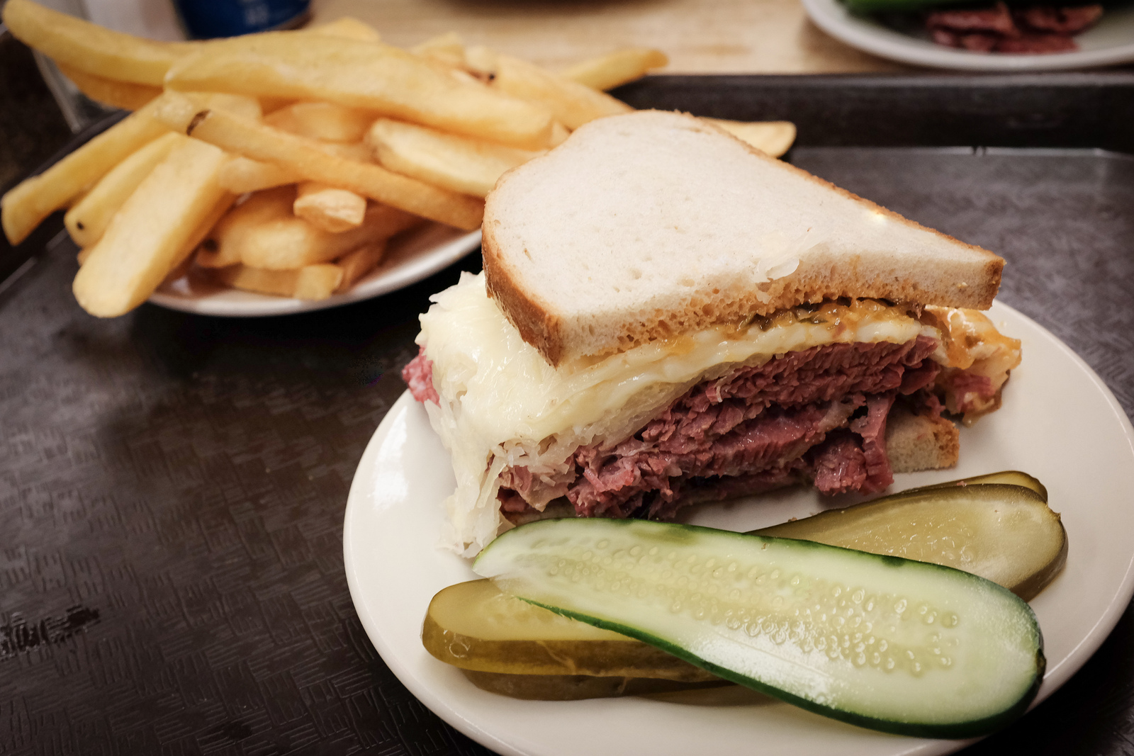 A Reuben at Katz's Deli in New York — a perfect example of very Jewish, but very un-kosher food (Photo/Flickr-BPPrice CC BY 2.0)
