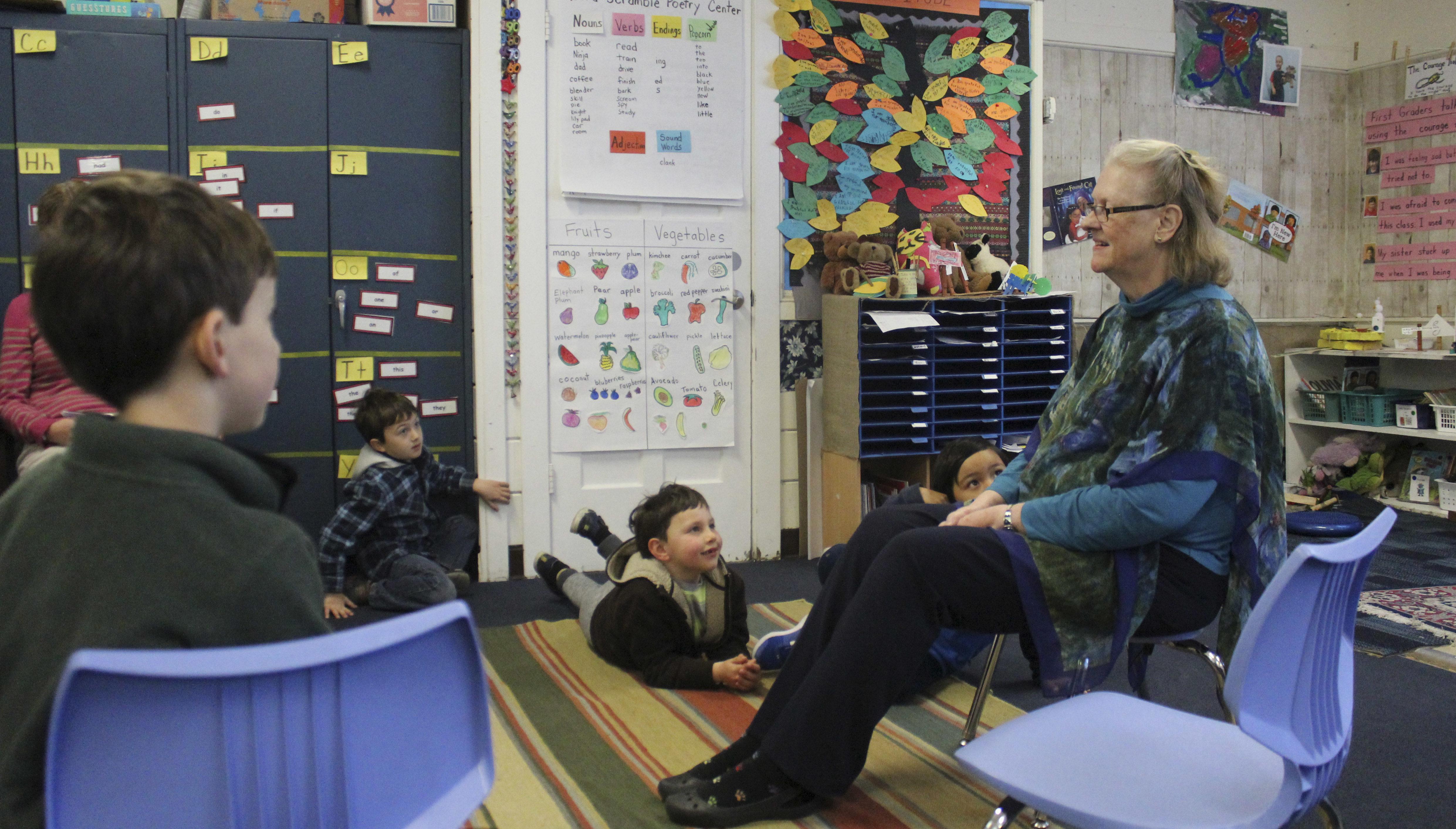 Linda Riff, interim head of school at Tehiyah Day School