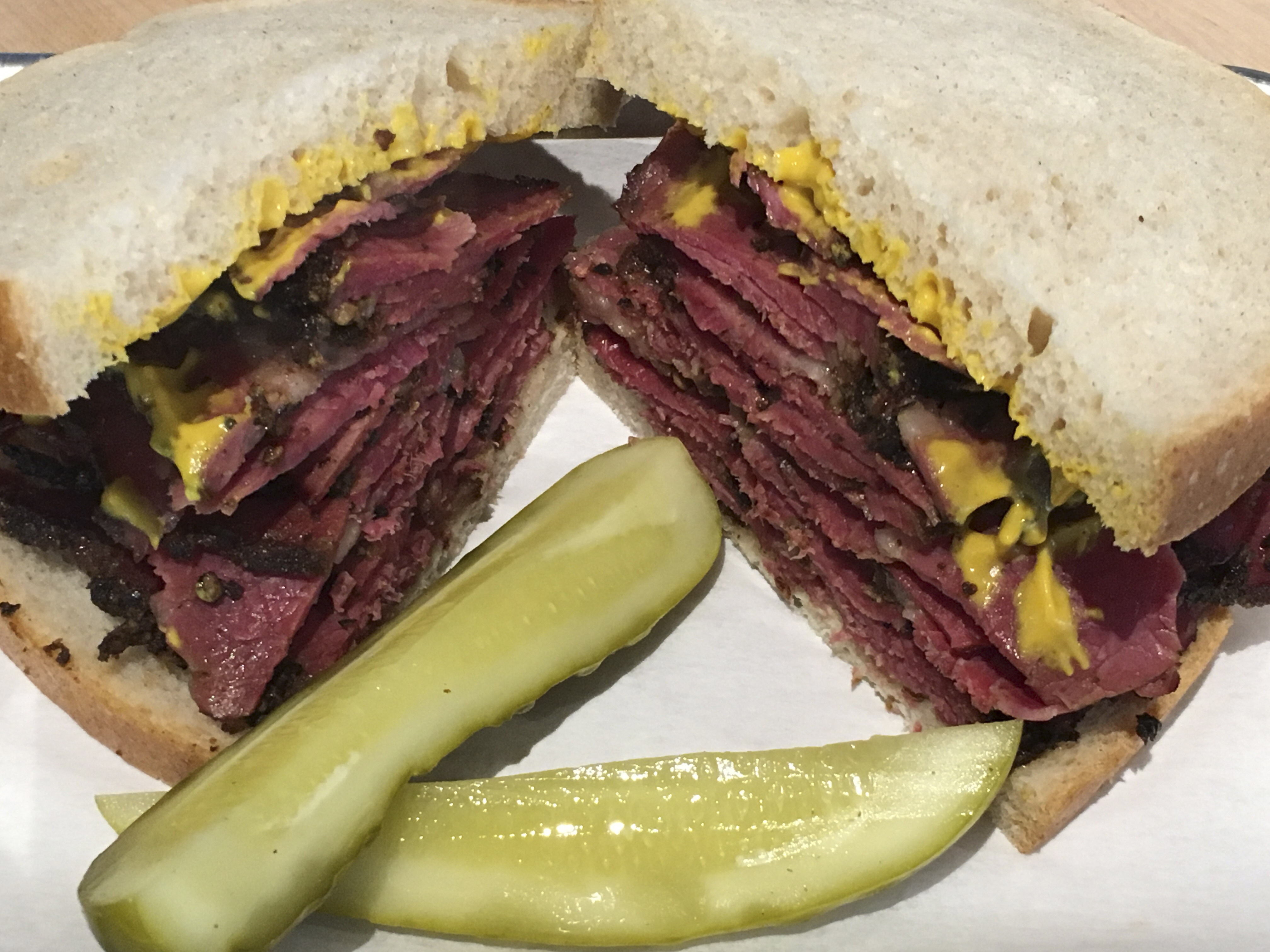 Augie's classic Montreal-style smoke meat sandwich (Photo/Courtesy Augie's)