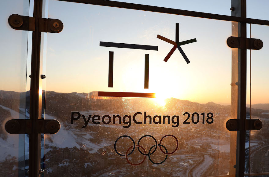 South Korea is hosting the 2018 Winter Olympics in Pyeongchang. (Photo/JTA-Chung Sung-Jun-Getty Images)