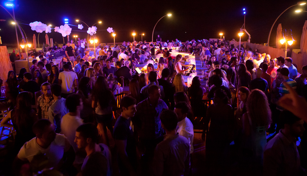 Nightlife in Tel Aviv is way too cool for the guys in this column. (Photo/Flickr-Israel Tourism CC BY-SA 2.0)