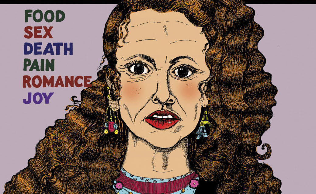 "From the cover of ""Love That Bunch"" by Aline Kominsky-Crumb"
