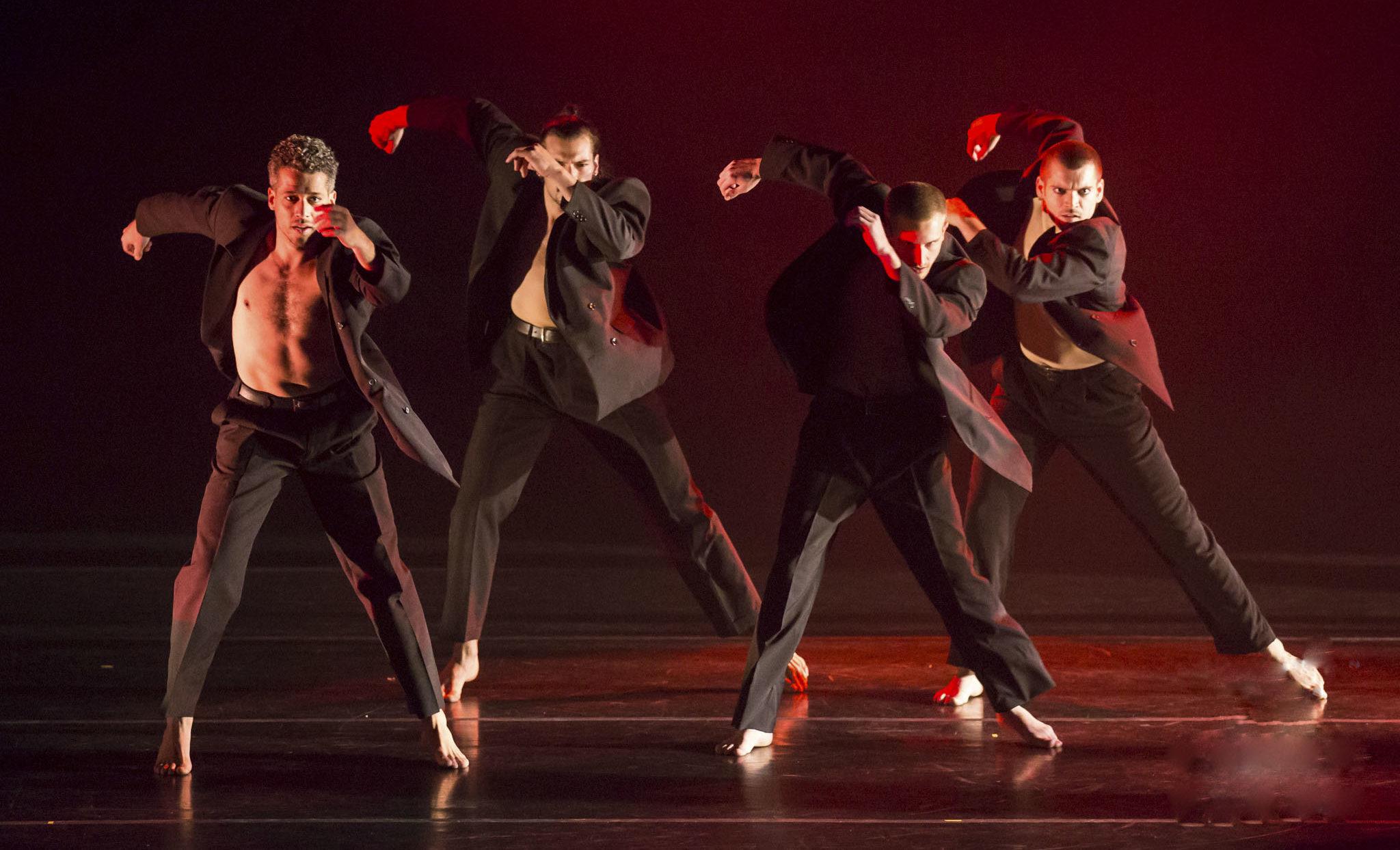 "Koresh Company dancers perform ""Sense of Human."" (Photo/Frank Bicking)"