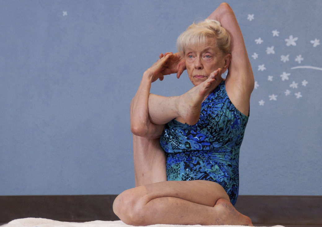 """Emmy Cleaves, 86, does yoga daily. She says """"the quality of your life is entirely governed by the state of your health."""""""
