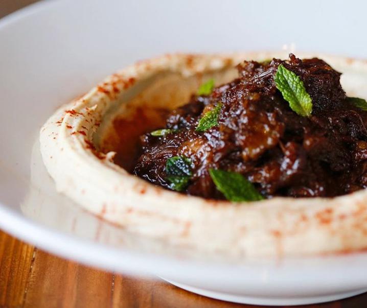 The titular hummus at Oren's Hummus (Photo/Oren's Hummus Facebook)
