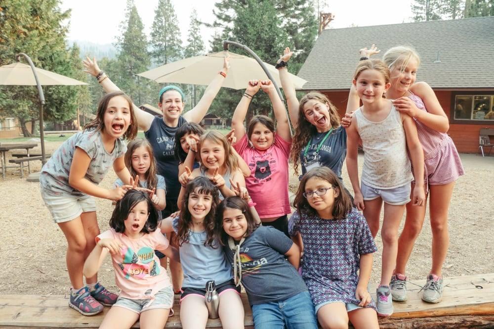 Campers at Camp Tawonga, a Jewish summer camp near Yosemite, in 2018. (Photo/Facebook-Camp Tawonga)