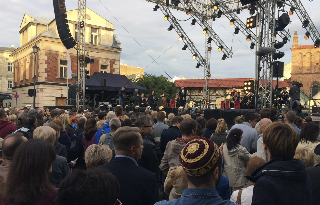 The final concert of the 2018 Krakow Jewish Culture Festival (Photo/Rob Gloster)