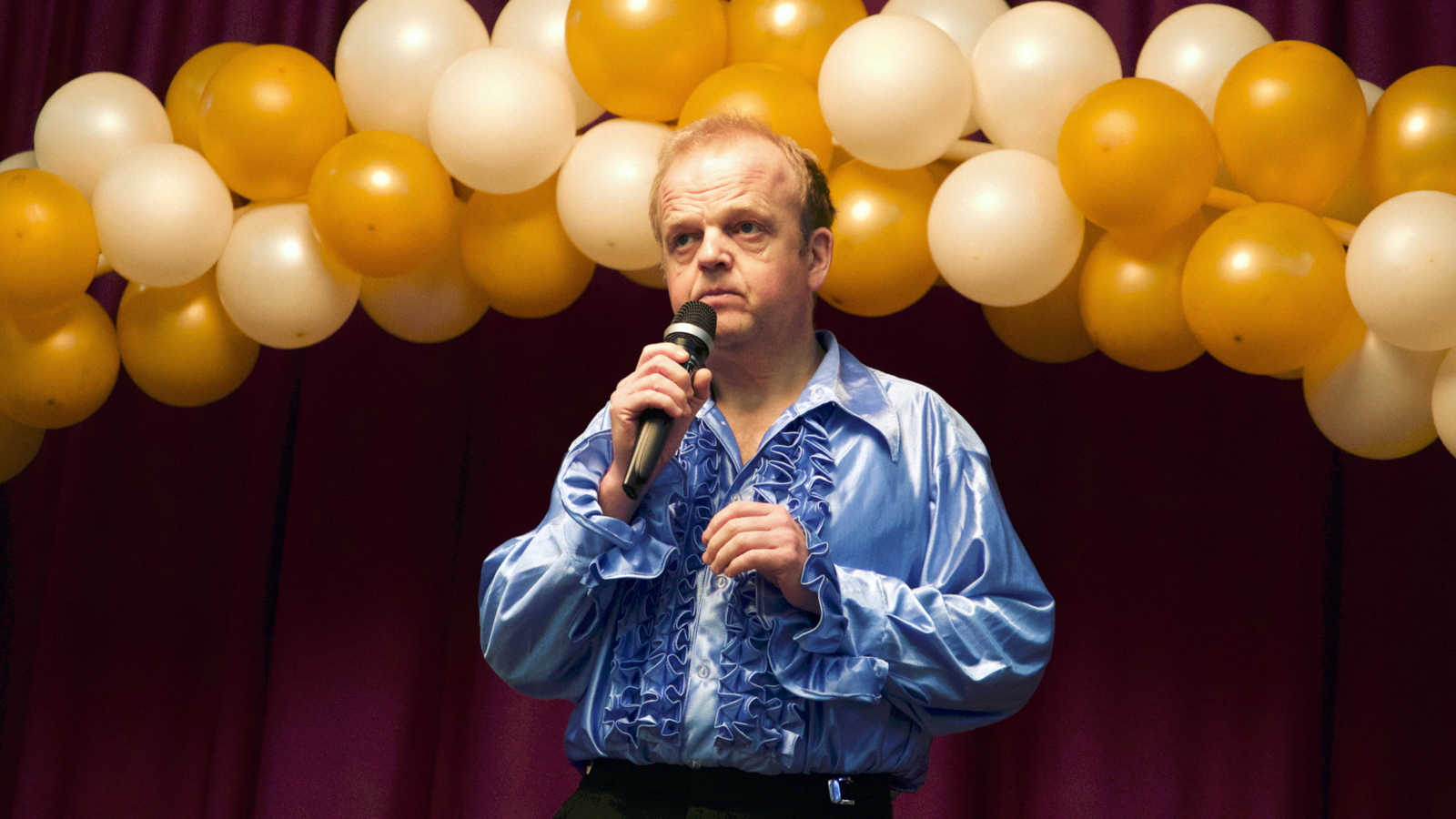 "Actor Toby Jones in ""The Entertainer"" (Photo/Courtesy JFI)"