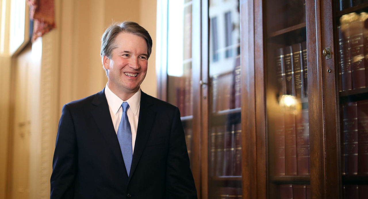 Supreme Court Justice nominee Brett Kavanaugh at the Capitol in Washington, D.C., on July 10 (Photo/Chip Somodevilla-Getty Images)