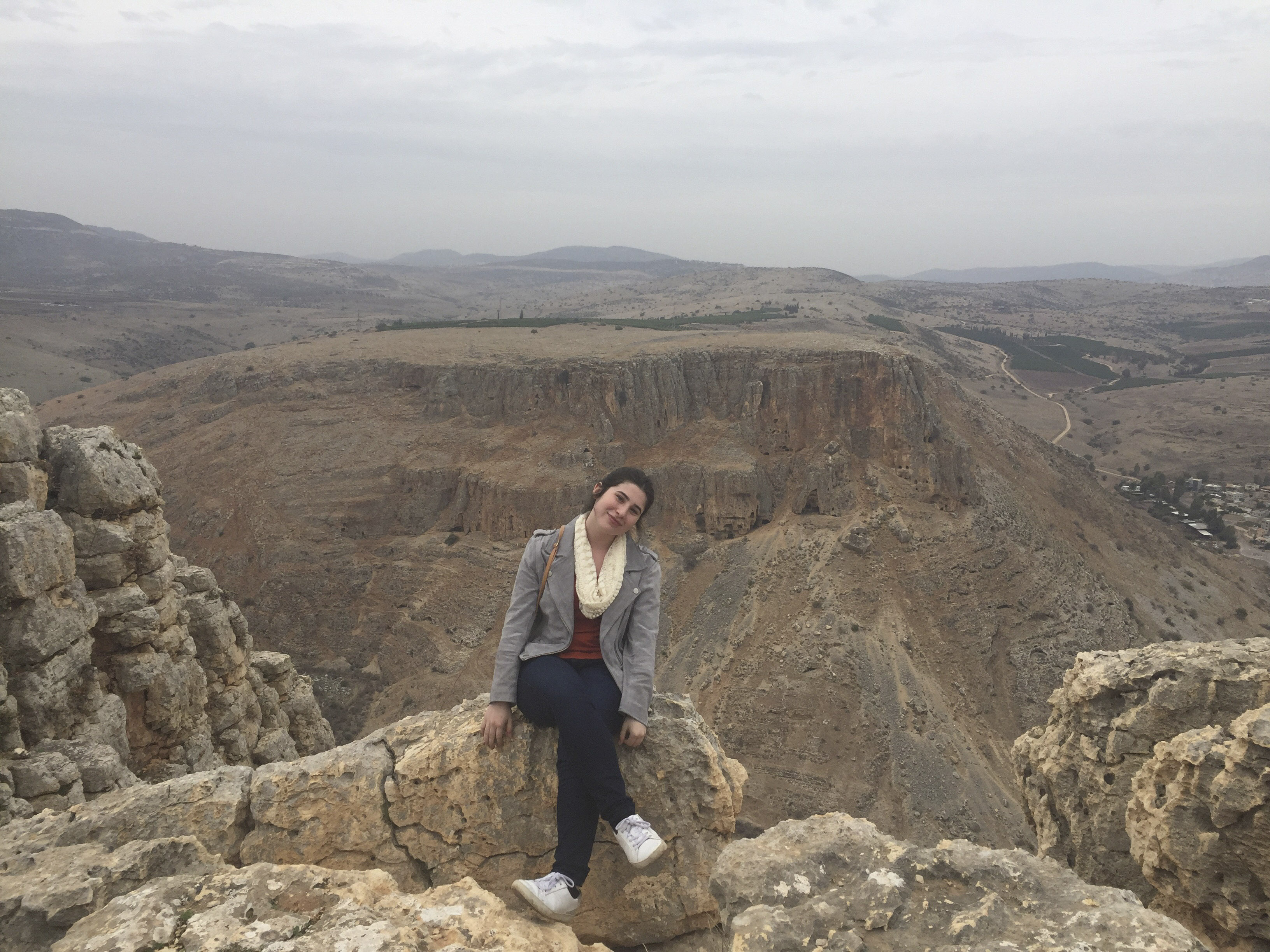 Eliana Dunn fell in love with Israel on her Birthright trip earlier this year.