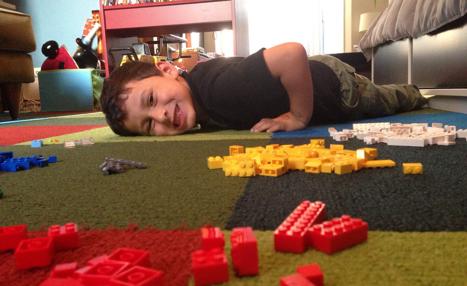 Too much Lego — and children! — on the floor (Photo/flickr-davitydave CC BY 2.0)