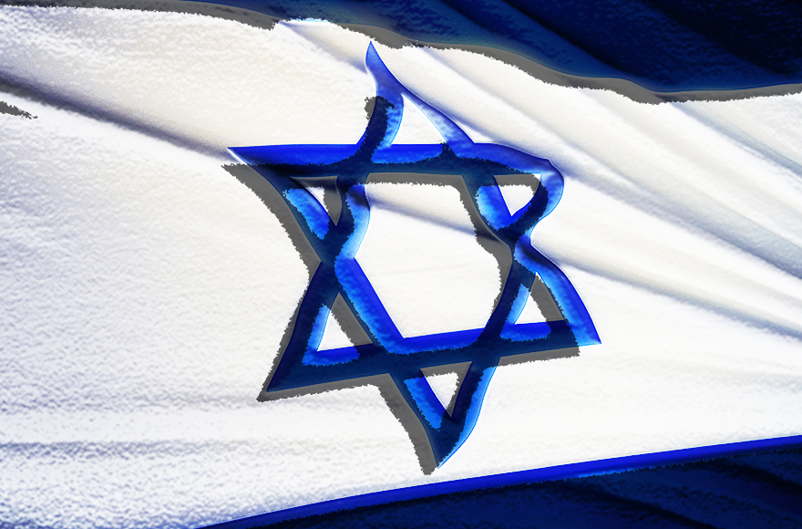 Israel's nation-state law prompted liberal criticism, while defenders called it a statement of the obvious. (Photo/May Golan-Flickr; illustration by Charles Dunst-JTA)