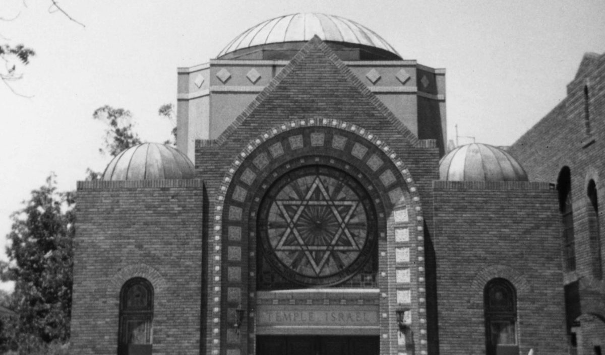 Temple Israel on Madison and Willow streets in Stockton, undated (Photo/Courtesy Western States Jewish History Association)
