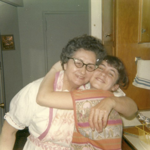 A young Karen Galatz with her grandmother