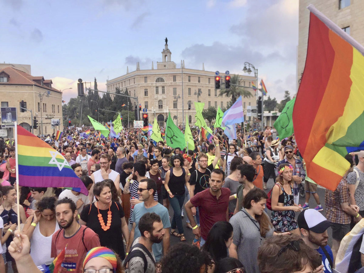 2018 Pride Parade in Jerusalem (Photo/A Wider Bridge)