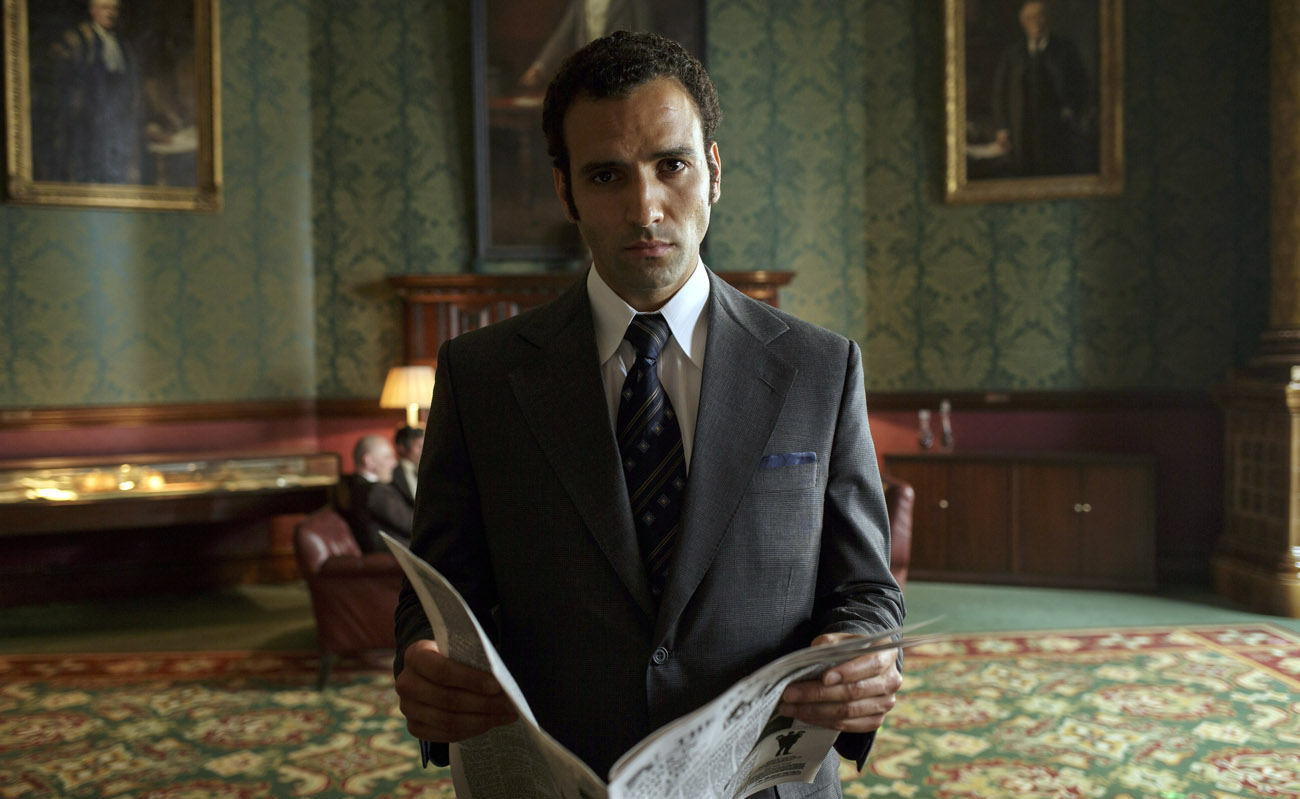 Ashraf Marwan (played by Marwan Kenzari) supplied the Mossad with valuable information in the 70s. (Photo/Netflix-Nick Briggs)