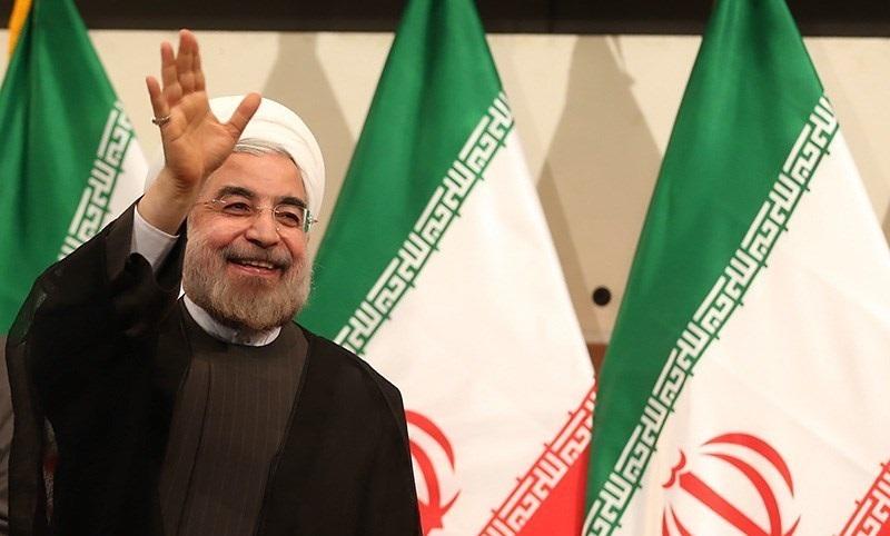 Rouhani waves, smiling