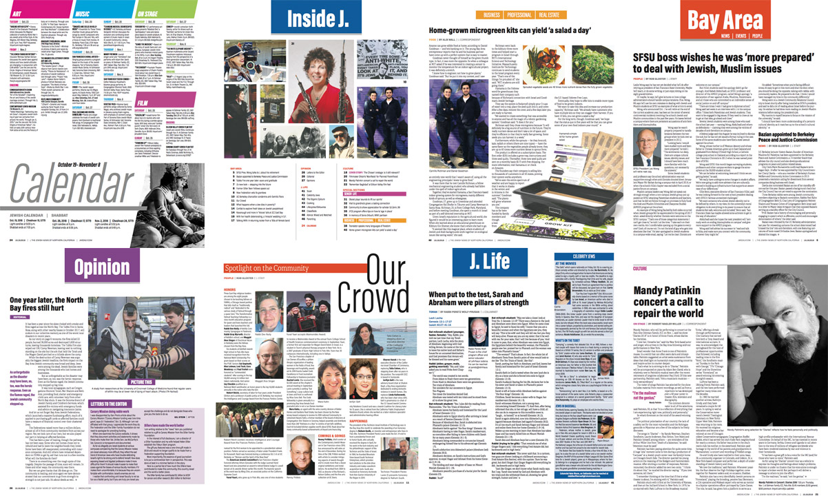 A few pages from this week's issue. You like?