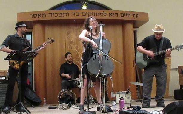 San Francisco Yiddish Combo playing at Shomrei Torah in Santa Rosa, Nov. 3